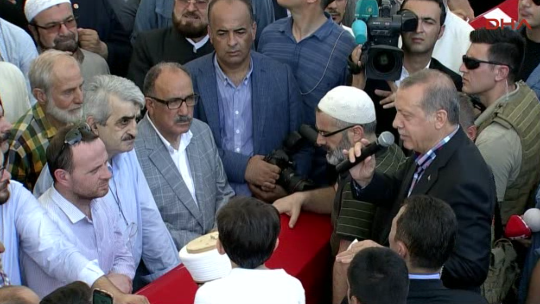 İlhan Varank Fatih Camii'nde son yolculuğuna uğurlandı