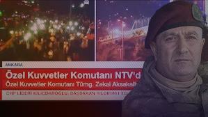 Özel Kuvvetler Komutanı NTV'de
