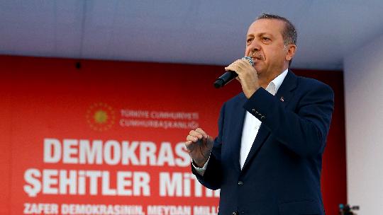 Erdoğan'ın 'Yenikapı' konuşması