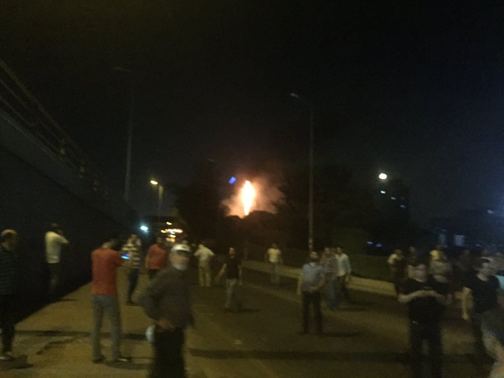 1On July 15, coup soldiers attacked Ankara Police Headquarters with six tanks, Skorsky helicopters and F-16s.