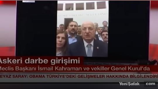 İsmail Kahraman NTV canlı yayınında
